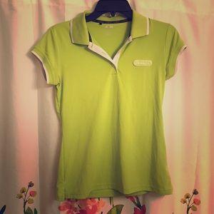 Green Adidas Polo